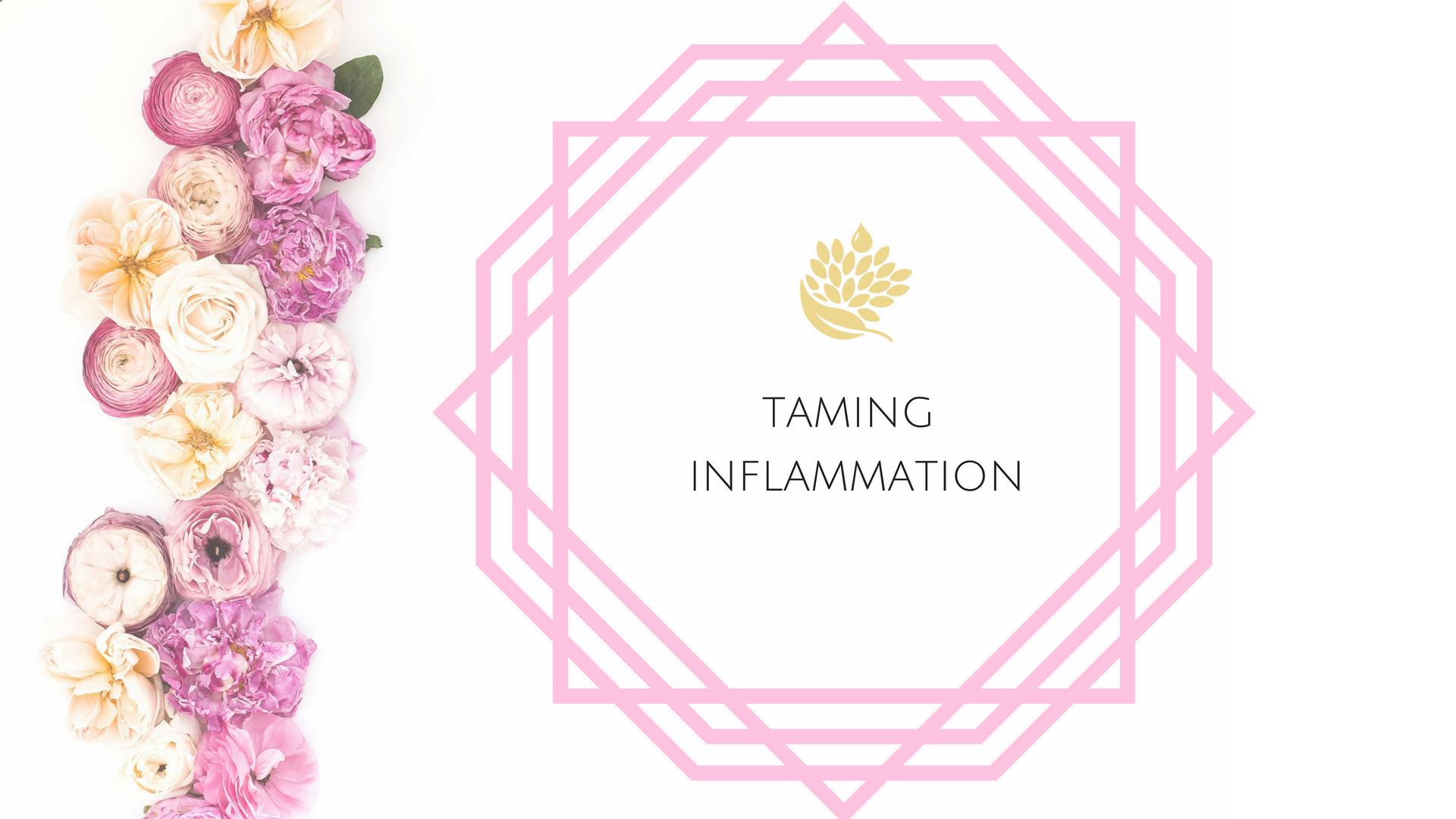Taming Inflammation